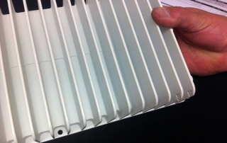 Machined-fins-for-Heatsink-with-painted-finish1